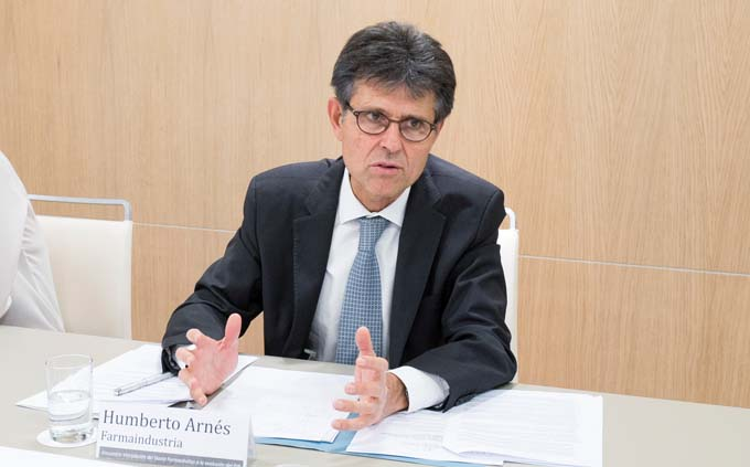 Humberto Arnés, director general de Farmaindustria
